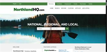 NorthlandHQ.com  - National to local Directory, Classifieds, Employment, Events, Rentals, Real Esta